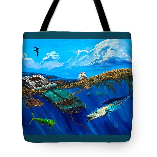 Wahoo Under Board Tote Bag
