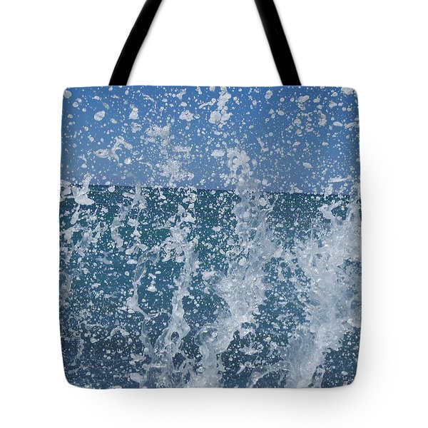 #waikiki Backsplash Tote Bag
