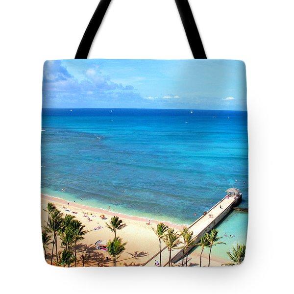 Waikiki Paradise Tote Bag