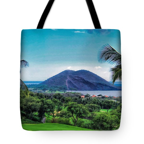 Wailea Golf 6 Tote Bag by Dawn Eshelman