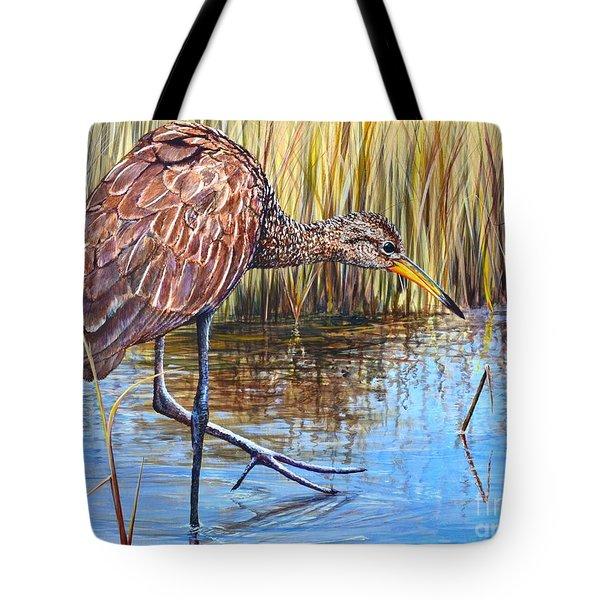 Wailing Bird Tote Bag