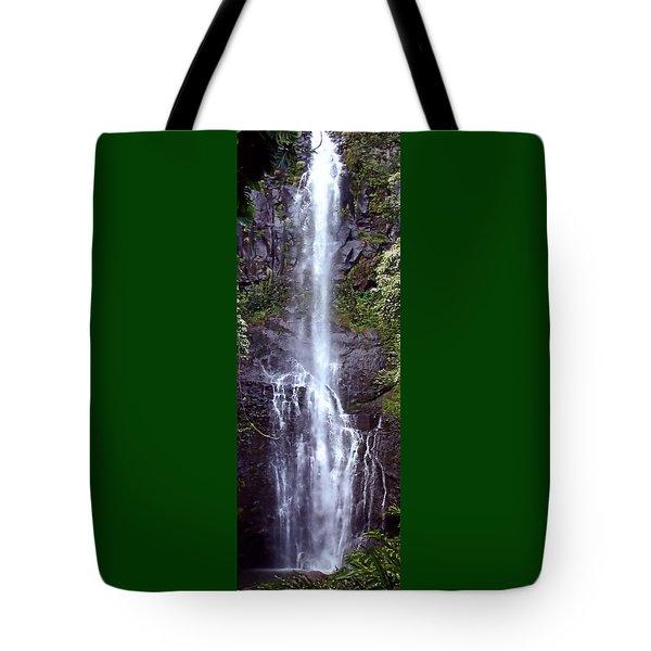 Wailua Falls Maui Hawaii Tote Bag