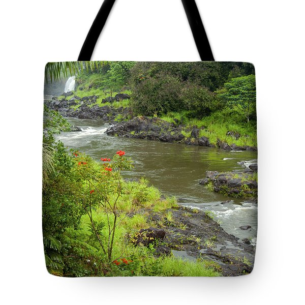Wailuka River Tote Bag by Bob Phillips