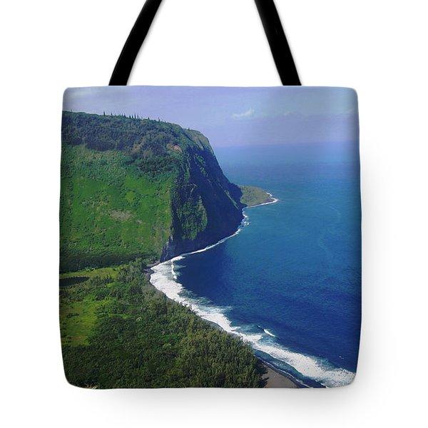 Waipio Valley Tote Bag by Pamela Walton