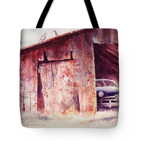 Waitin In The Shade Tote Bag