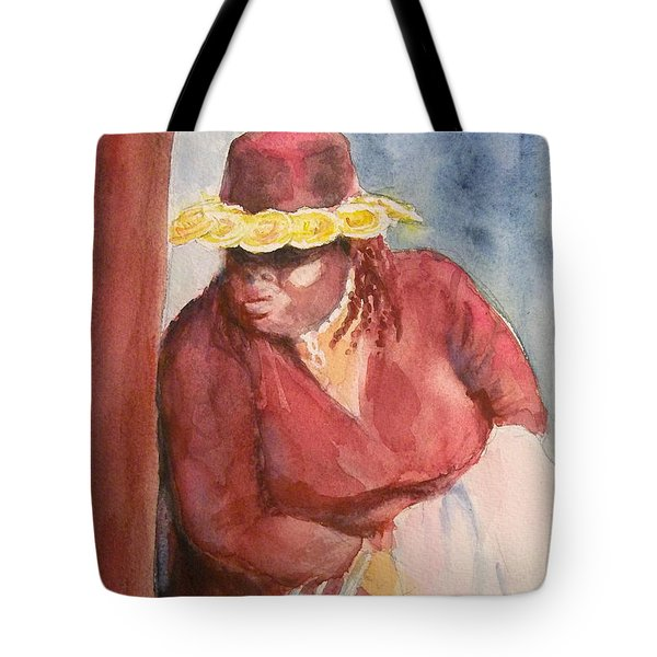 Waiting 1 Tote Bag by Yoshiko Mishina