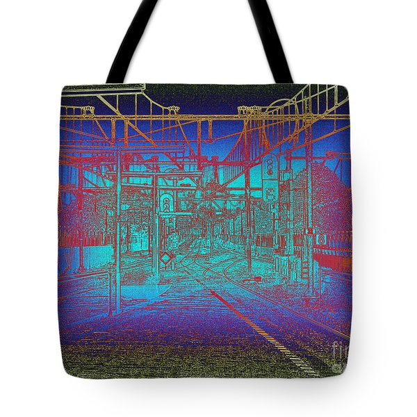 Waiting At Gouda Station Tote Bag
