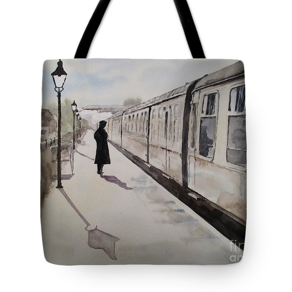 Waiting At Williton Tote Bag