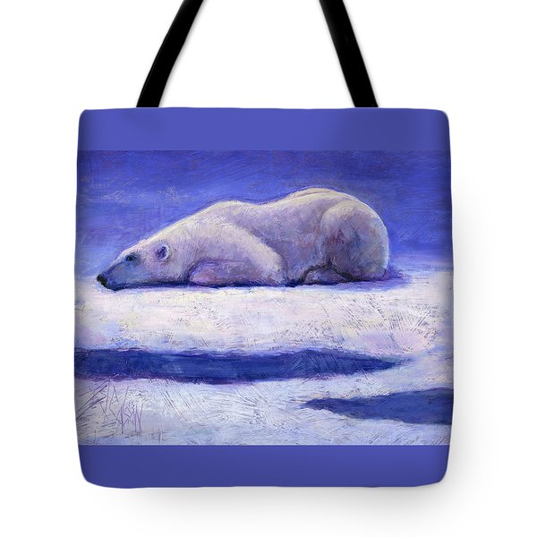 Waiting  Tote Bag by Billie Colson