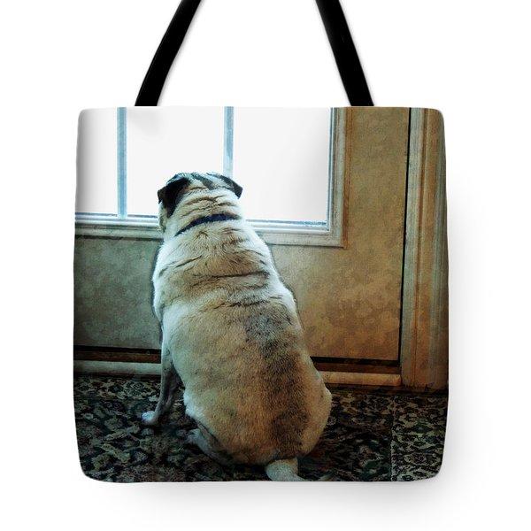 Waiting... Tote Bag