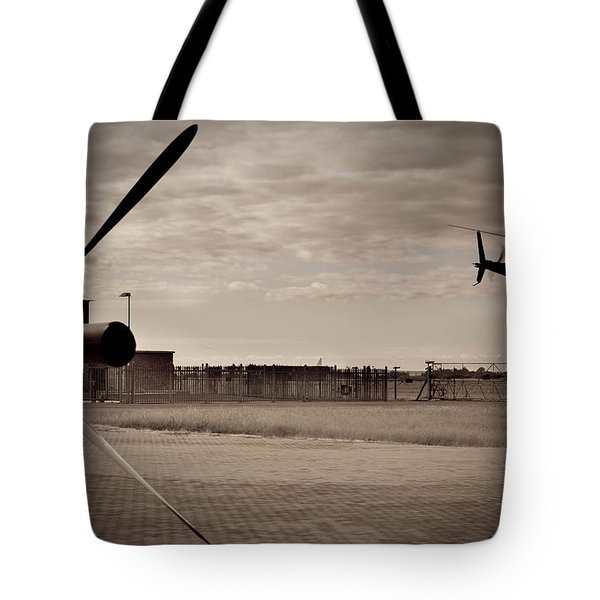 Waiting For Action Tote Bag by Paul Job