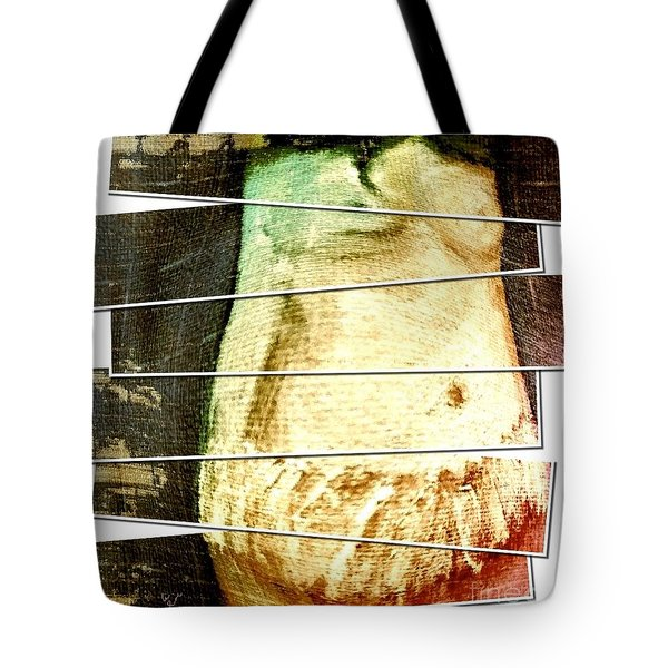 Tote Bag featuring the digital art Waiting For Baby by Ann Calvo