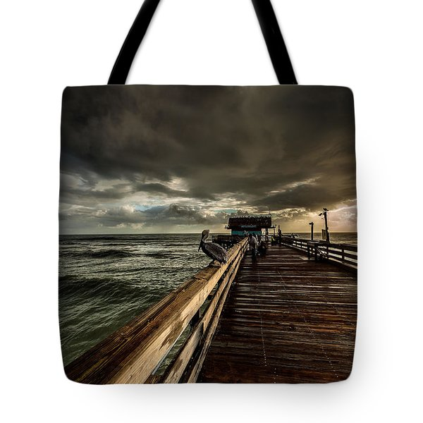 Waiting For Breakfast Tote Bag
