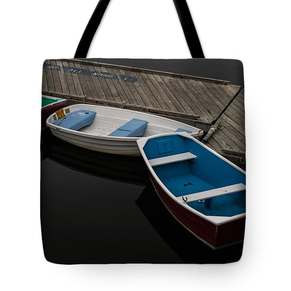 Tote Bag featuring the photograph Waiting For Duty by Jeff Folger