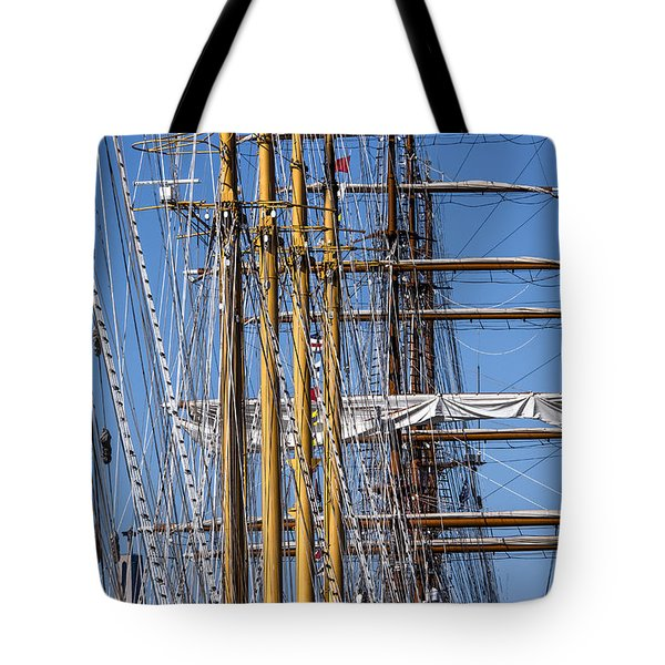 Tote Bag featuring the photograph Waiting For Good Winds by Edgar Laureano