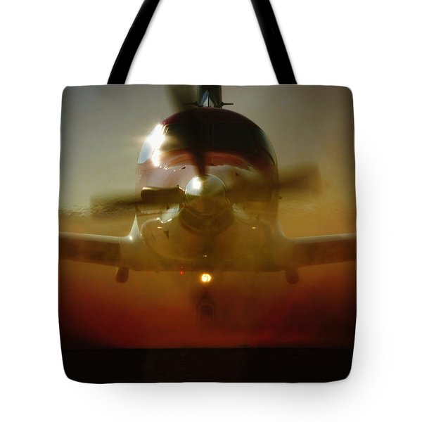 Waiting For Mercy Tote Bag by Paul Job