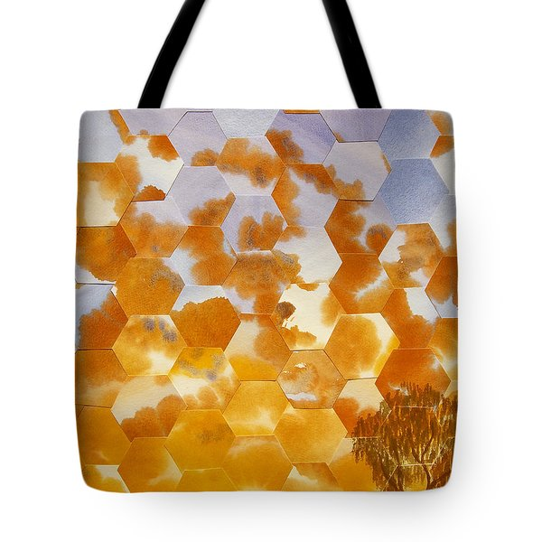 Waiting For My Honey To Come Home Tote Bag by Jeni Bate