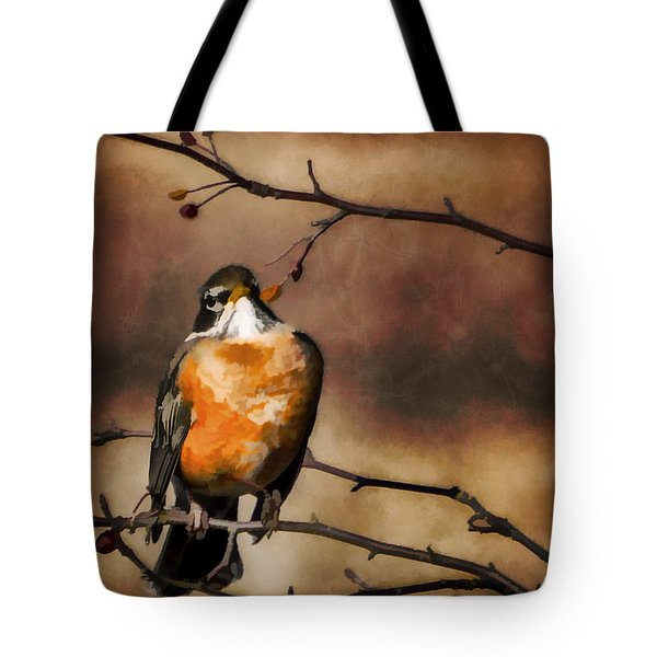 Waiting For Spring Tote Bag by Jordan Blackstone