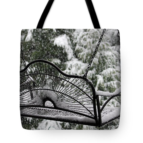 Tote Bag featuring the photograph Waiting For Spring by Katie Wing Vigil