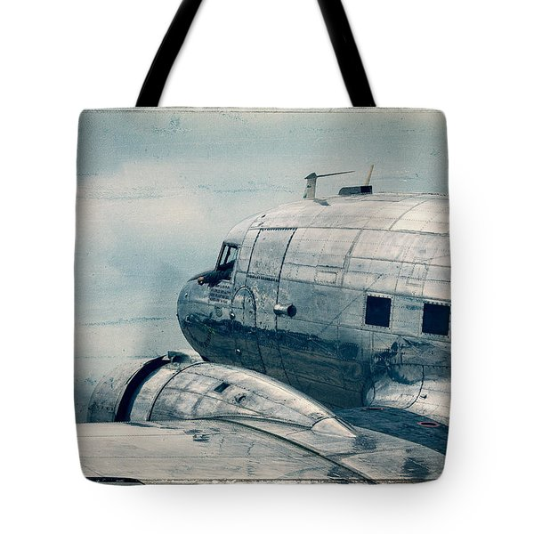 Waiting For Take Off Tote Bag by Steven Bateson