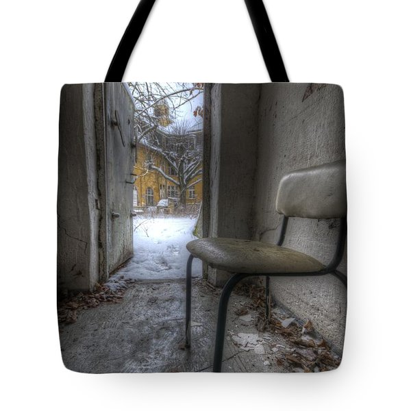 Waiting For The Cold War Tote Bag by Nathan Wright