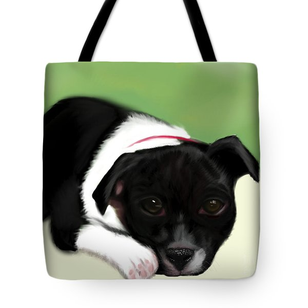 Waiting For The Family  Tote Bag