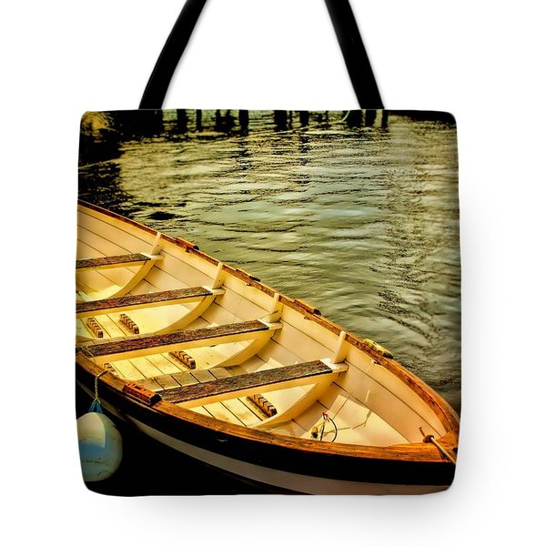 Tote Bag featuring the photograph Waiting For The Fisherman by Wallaroo Images