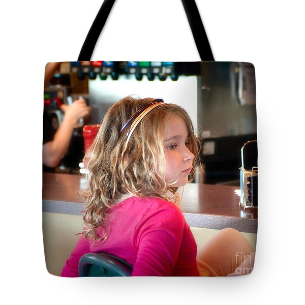 Tote Bag featuring the photograph Waiting For The Grown-ups by Sandi Mikuse