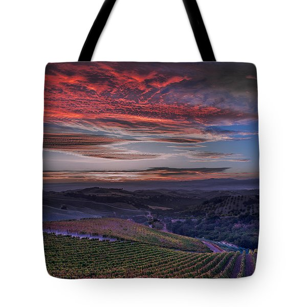 Waiting For The Sun In Adelaida Tote Bag