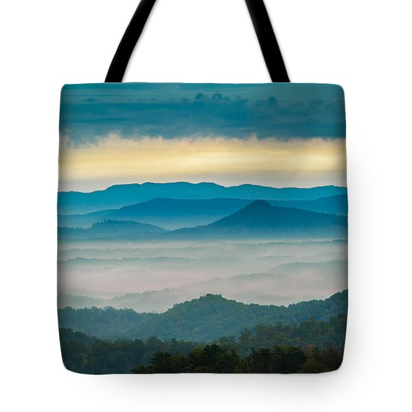 Tote Bag featuring the photograph Waiting For The Sun by Joye Ardyn Durham