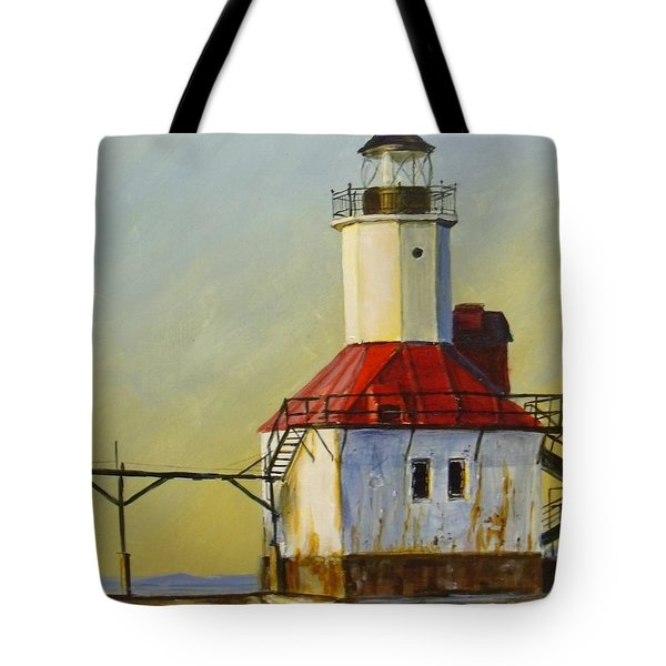 Waiting For The Sunset Tote Bag