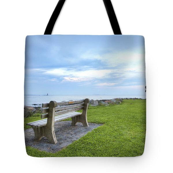 Waiting For The Supermoon Tote Bag by Eric Gendron