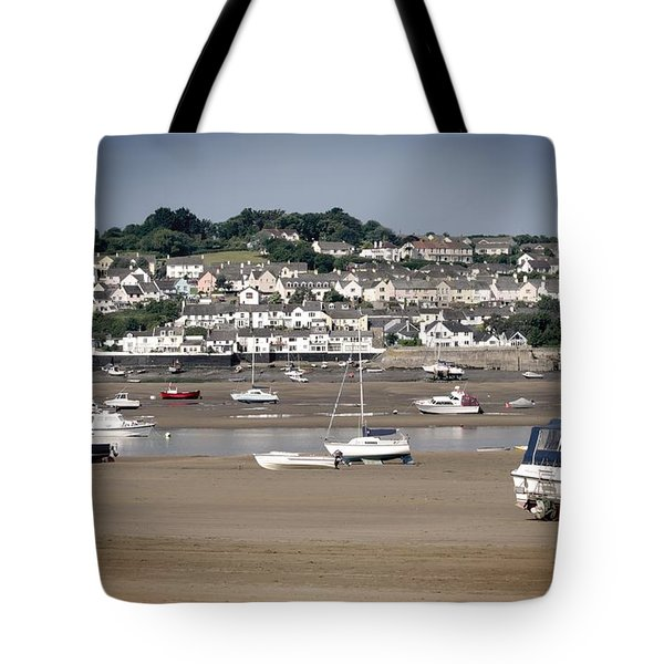 Waiting For The Tide Tote Bag by Pennie  McCracken