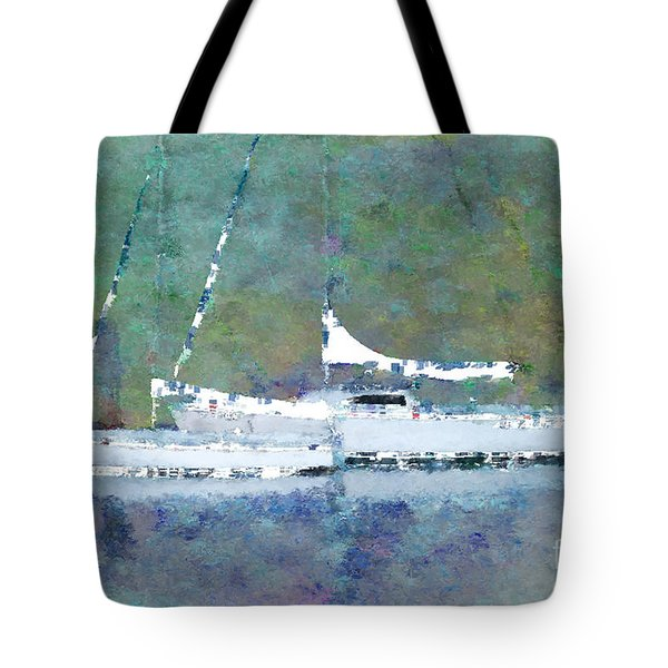 Waiting For The Wind Tote Bag by Betty LaRue
