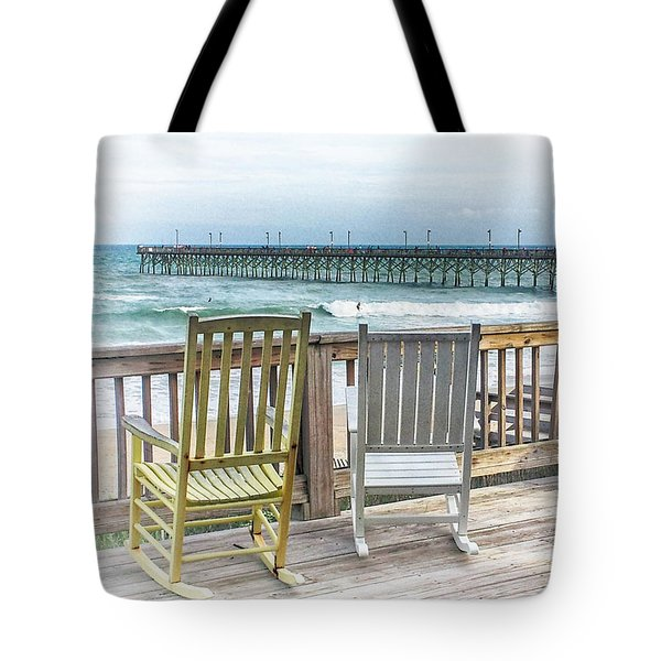 Tote Bag featuring the photograph Waiting For You by Ben Shields