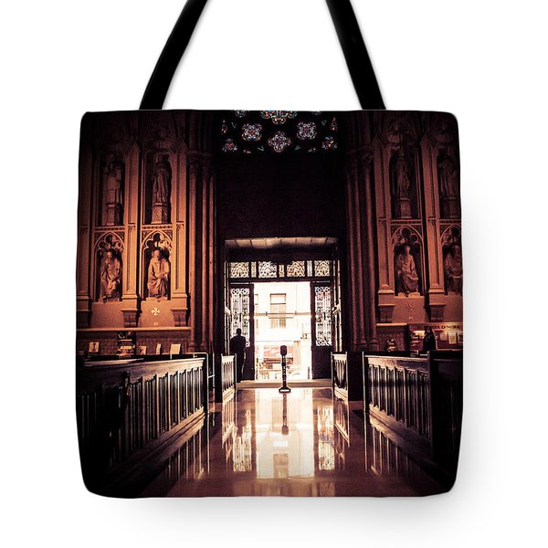 Waiting In Faith Tote Bag