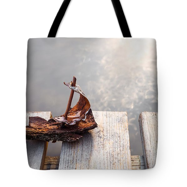 Waiting Tote Bag by Janne Mankinen