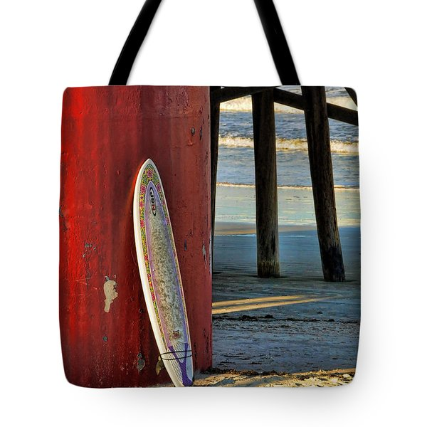 Tote Bag featuring the photograph Waiting by Kenny Francis