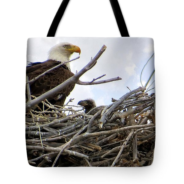 Waiting No Longer Tote Bag by Bob Hislop