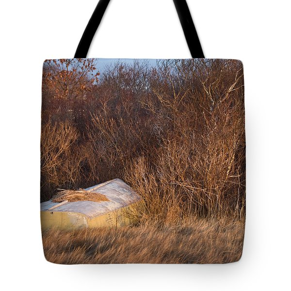 Waiting On Spring Tote Bag by Joan Davis