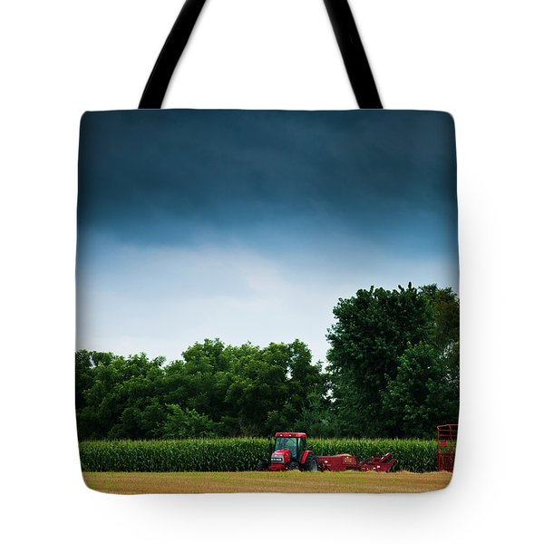 Waiting Out The Storms Tote Bag by Christi Kraft
