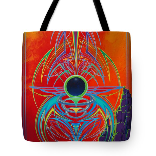 Waiting Over Sedona Tote Bag