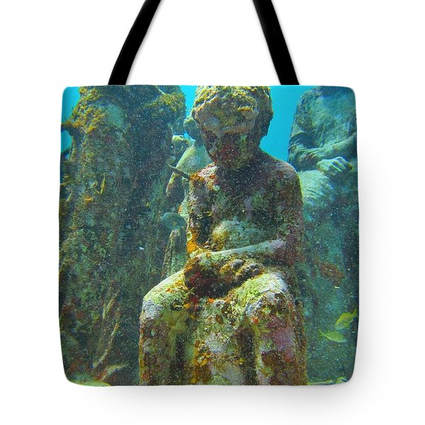 Waiting Patiently For The Coral To Grow Up Tote Bag by Halifax photographer John Malone