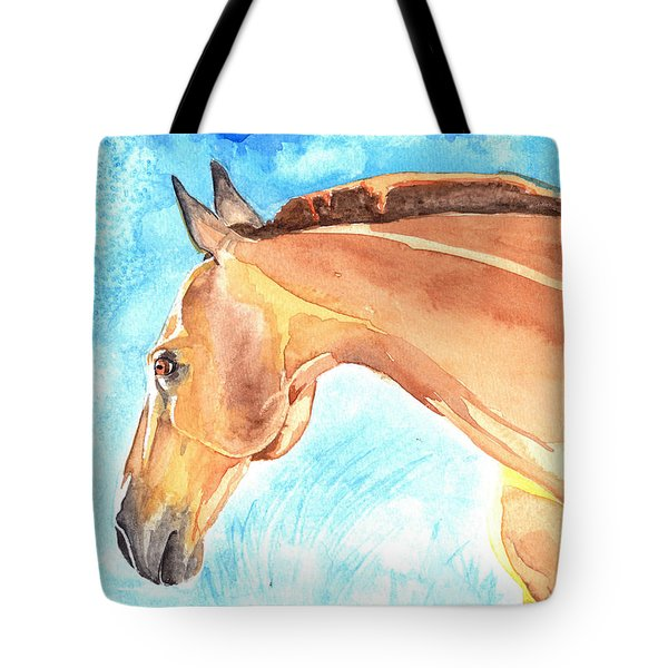 Waiting Silently Tote Bag