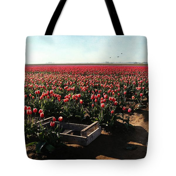 Tote Bag featuring the photograph Waiting To Be Picked by Sylvia Cook