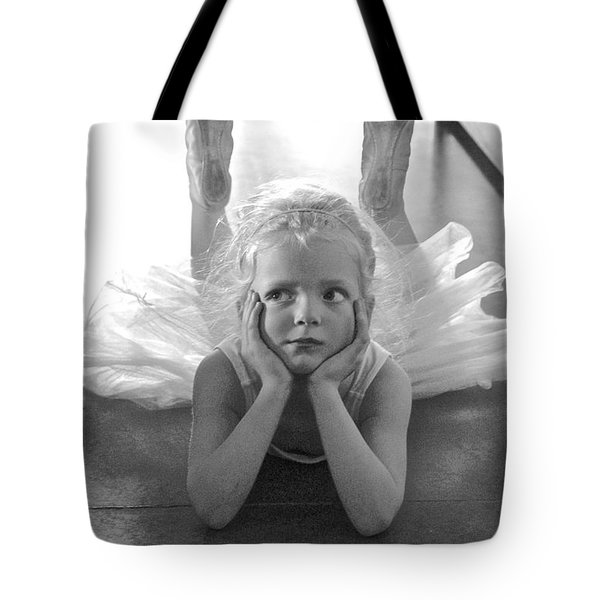 Waiting To Begin Tote Bag