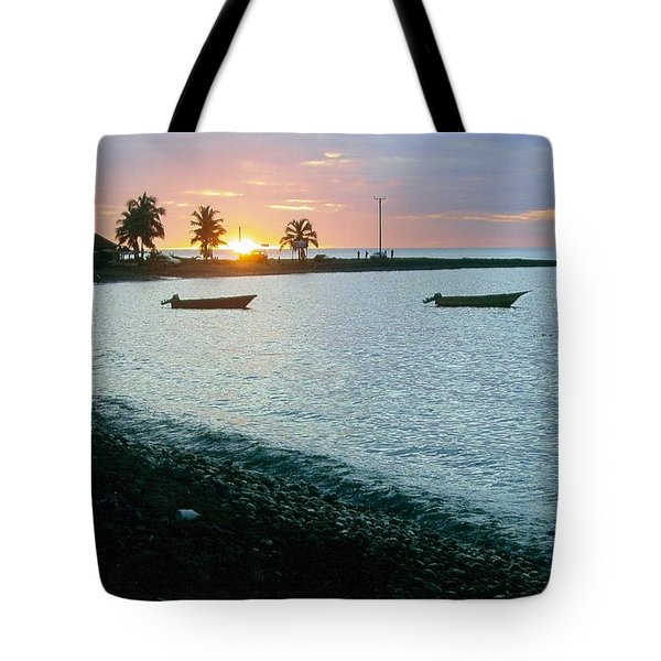 Waitukubuli Sunset Tote Bag