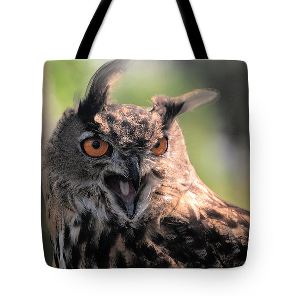 Tote Bag featuring the photograph Wake Up by Leticia Latocki