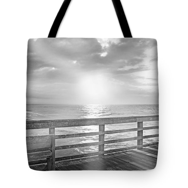 Waking Coast Tote Bag by Betsy Knapp