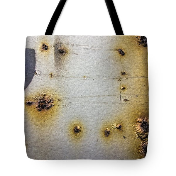 Waking Rust Tote Bag by David Stone